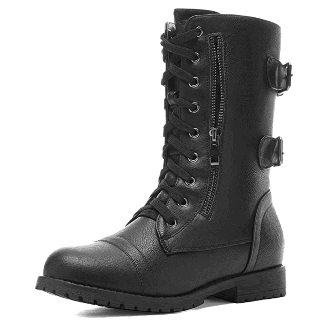 This image has an empty alt attribute; its file name is steampunk-womens-boots-640x640.png