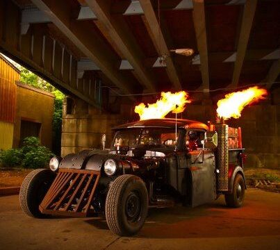 6 Wicked Steampunk Cars